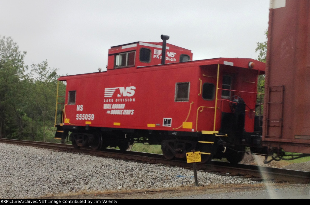 NS 555059 Caboose