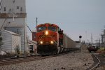 BNSF 6307 takes a empty coal back to the mines.