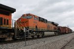 BNSF 6694 is 2nd out on this train.