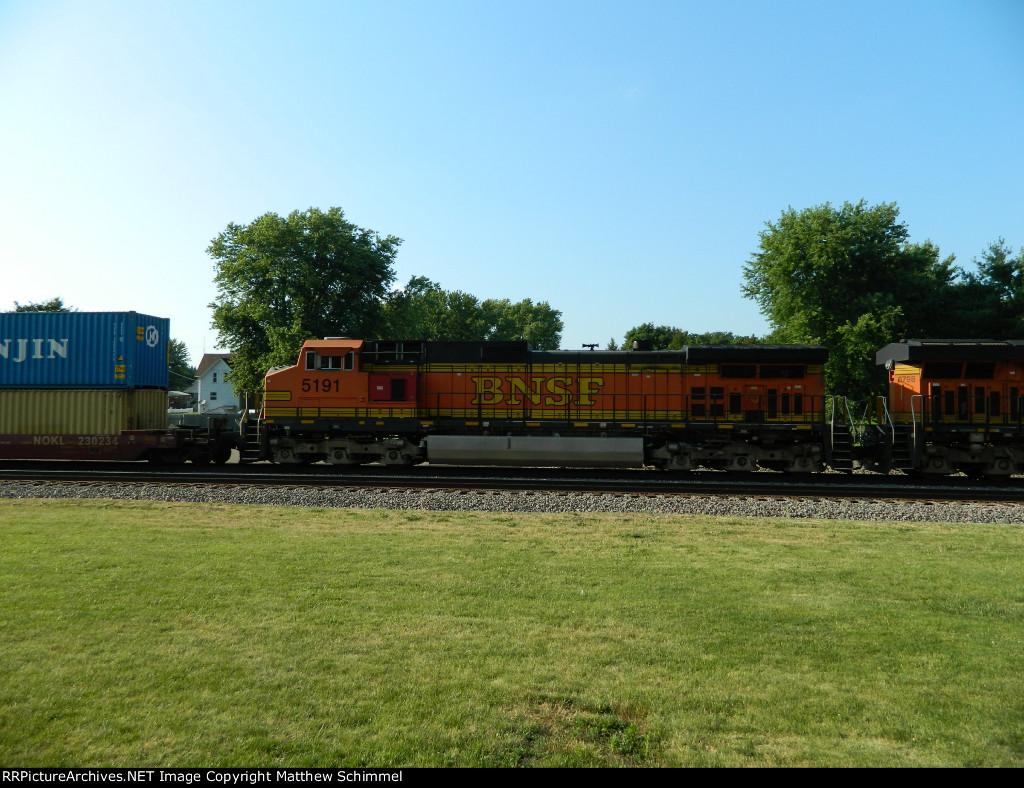 BNSF 5191 - DPU