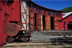 Roundhouse at Railtown SHP in Jamestown, CA
