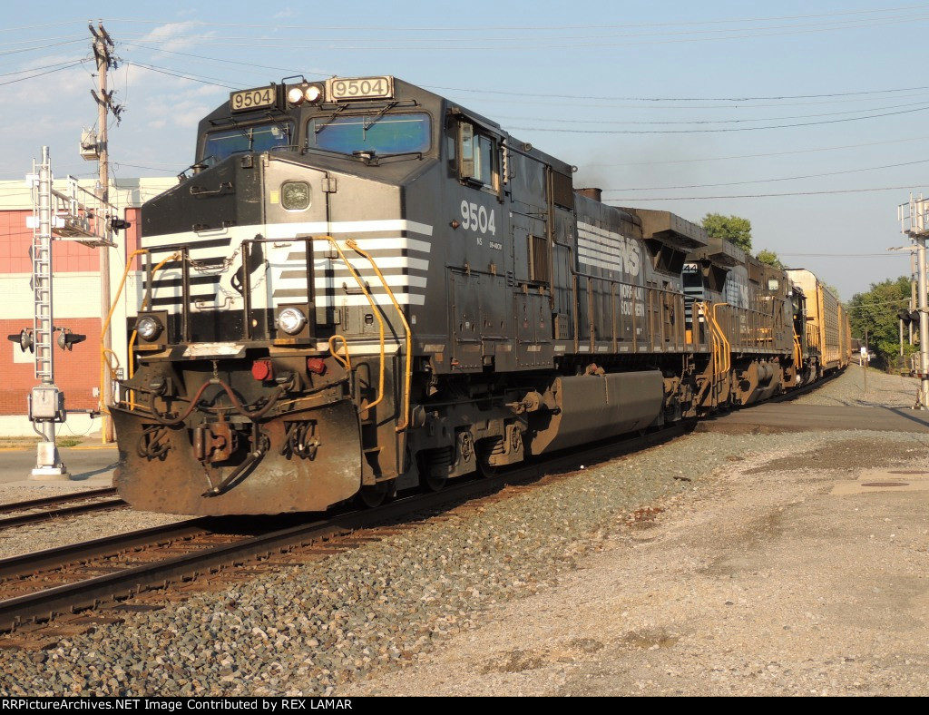 6-28-2012 NS 196 CF 90.3 (HAGERSTOWN) HAGERSTOWN, IN