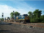 CSX 3025 (New Gevo) Leads An Intermodal By The New Signals