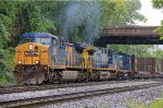 CSX Q410 Meets the Afternoon Summer Thunderstorm