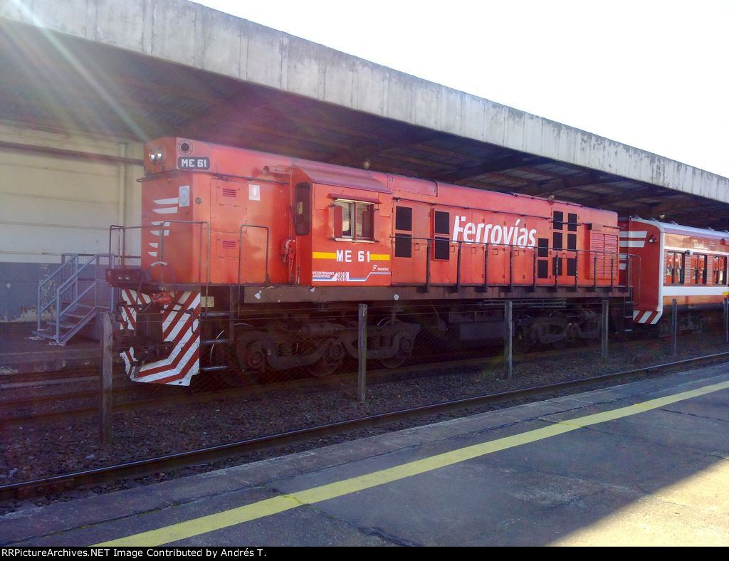 Alco RSD-35 #ME61 at Retiro station