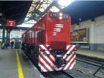 EMD G22 #E711 at Retiro station.