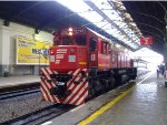 EMD G22 #E716 at Retiro station.