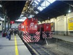 EMD G22 #E702 and #E718 at Retiro station.