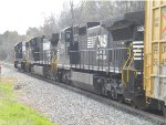 Norfolk Southern At Five Row