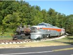 Rock Island Aerotrain at the Museum of Transportation
