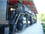 Norfolk and Western Y6a No. 2156 at the Museum of Transportation