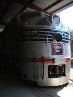 Burlington E9A 9939 at the Museum of Transportation