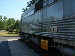 "Burlington Zephyr ""Silver Charger"" at the Museum of Transportation"