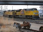Union Pacific SD70ACe no. 8657 and C41-8W no. 9459