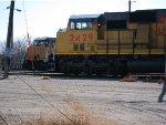 Union Pacific AC44CW no. 6516 and SD60M no. 2429