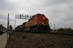 Inbound stack train