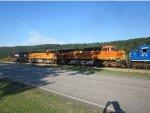 NS 2502 & BNSF 6033 & BNSF 6288 & CEFX 6019