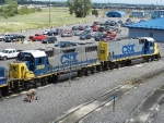 CSXT EMD GP38-2 2809 & EMD GP15-1 1558