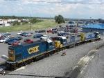 Ex-Conrail EMD's