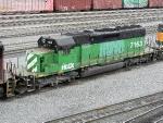 HLCX EMD SD40-2 7163