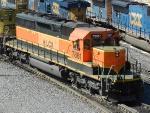 HLCX EMD SD40-2 7861