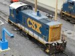 CSXT EMD SW1001 1124