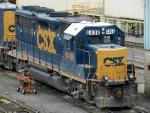 CSXT EMD GP40-2 6406