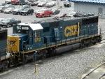 CSXT EMD SD60 8712