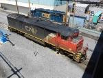 CN GE C40-8M 2443 & CSXT EMD GP40-2 6212