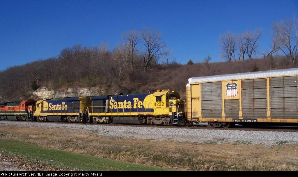 BNSF 4232