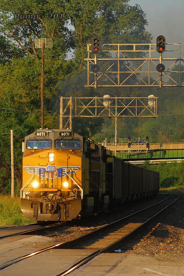 Westbound UP Empty Coal Train