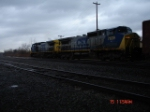 CSX 7839 & CSX 7696 run back-to-back WB