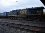 CSX 5255 running backwards EB