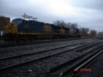 CSX 5255 & CSX 5265 head EB towards the Dewitt Yard