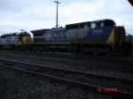 CSX 7909 & CSX 8031 run cab-forward EB