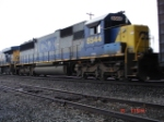 CSX 8544 runs backwards WB