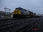CSX 695 & CSX 5264 head WB on the #2 Track