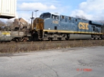 CSX 5262 running backwards EB on the #2 Track