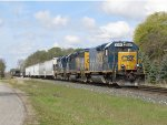 With 29 cars for Lansing, D707-22 continues its way east