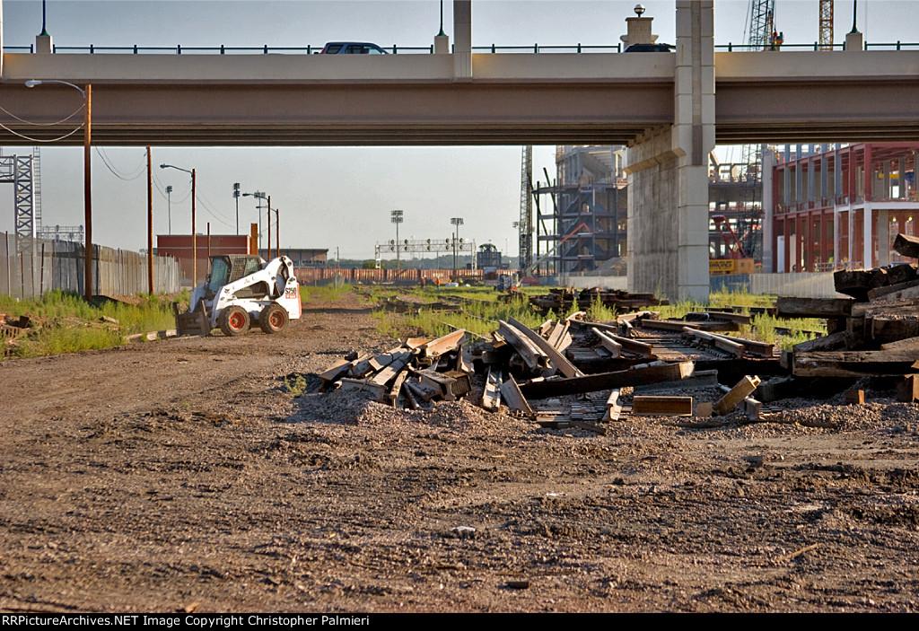 BNSF X-Yard Being Removed