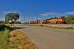 BNSF 5049 and BNSF 737