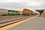 BNSF 2701 and BNSF 4734