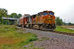 BNSF 672 and CN 5626 Lead H-KCKPAS9-26