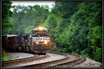 NS SD70M-2 2771 leads 16T