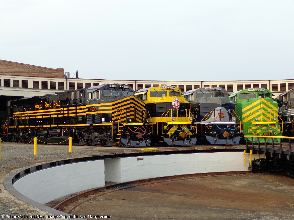 NKP, VGN, WAB, & IT Heritage units