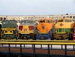 Erie, DLW, CNJ, & RDG Heritage units