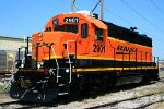 Freshly painted BNSF #2901