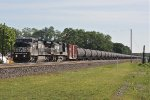 Westbound Ethanol tankers
