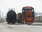 WE 3102 sits in the yard waiting for Monday