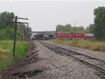 NS 9606 rattles southward over the diamonds at Alexis with 21N